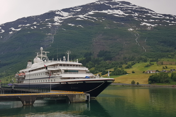 SeaDream Yacht Club in Norway