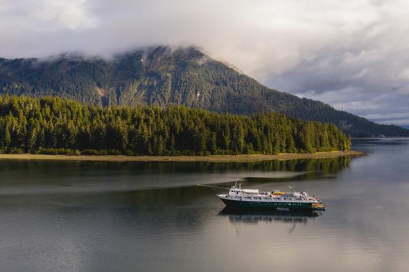 UnCruise Expeditions - Wilderness Adventurer in Neka Bay, Alaska