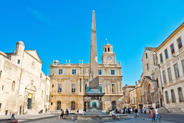 Place de la Republique, Arles, France