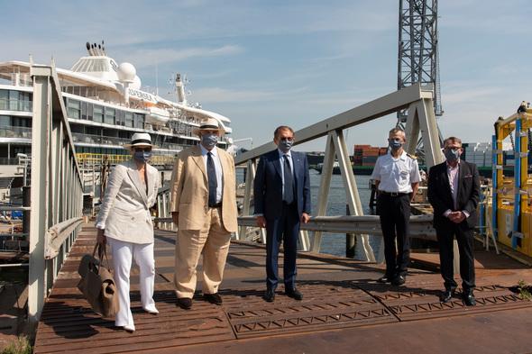 Silversea - Silver Origin delivery ceremony