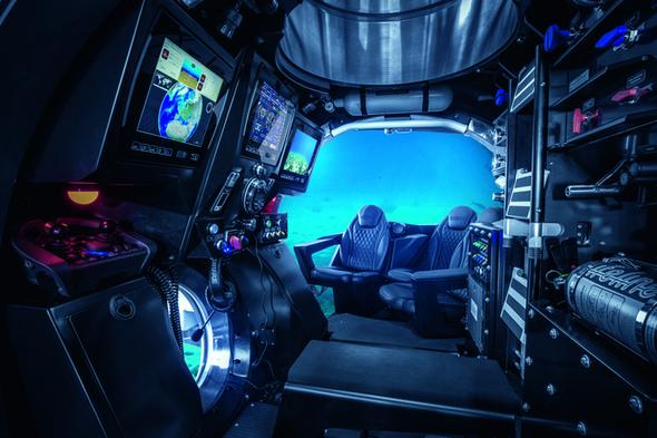 Scenic Eclipse - Scenic Neptune submarine