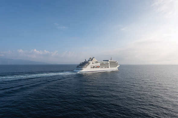 Silver Muse at sea