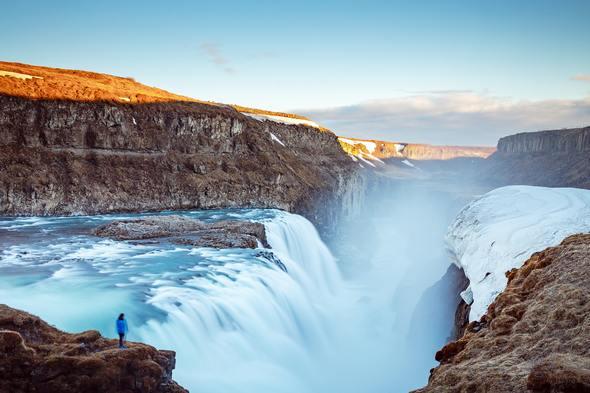 Gulfoss waterfall, Golden Circle, Iceland