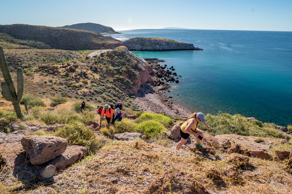 UnCruise - Hiking on Isla San Francisco, Sea of Cortez