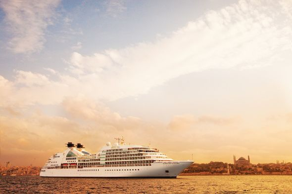 Seabourn Sojourn in Istanbul