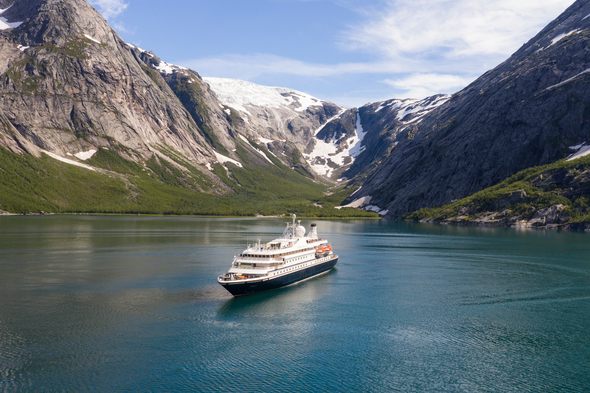 SeaDream Yacht Club in Norway, summer 2020