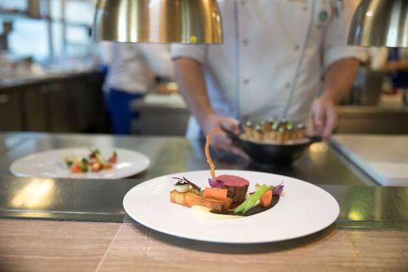 Cuisine on board Crystal Seychelles