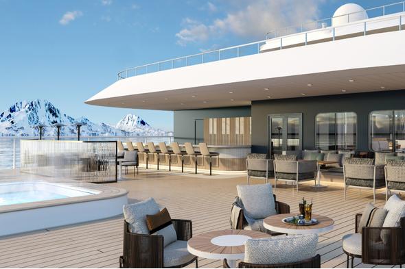 Swan Hellenic - Vega Class - Pool deck