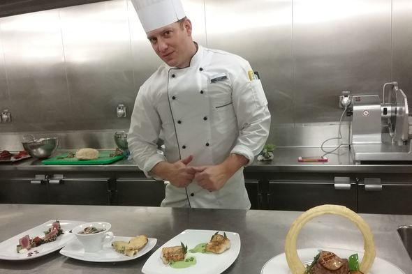 Derek Allen, Head Chef at Tradewind Voyages