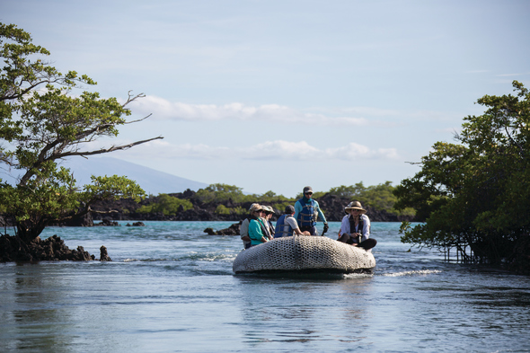 Silversea Expeditions - Zodiac cruise in the Galapagos