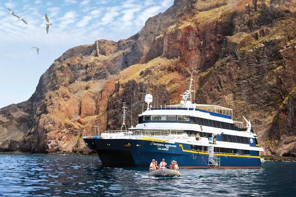 Lindblad National Geographic Islander in the Galapagos