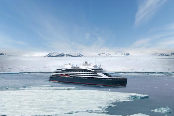 Ponant - Le Commandant Charcot hybrid-powered icebreaker