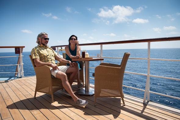 Casual dress on board Windstar Cruises