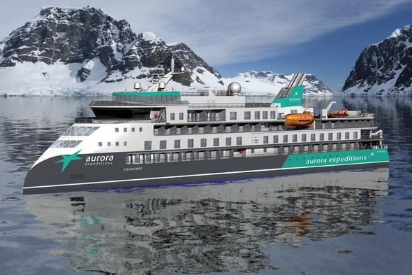 Rendering of Aurora Expeditions' Sylvia Earle