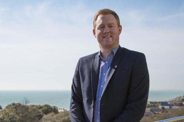 Iain Powell, Head of Trade Sales at Saga Cruises