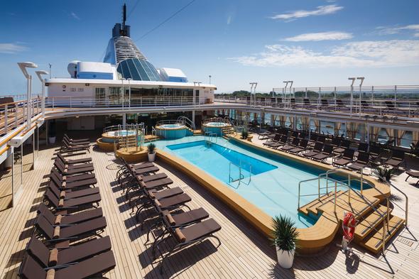 Silver Spirit pool deck
