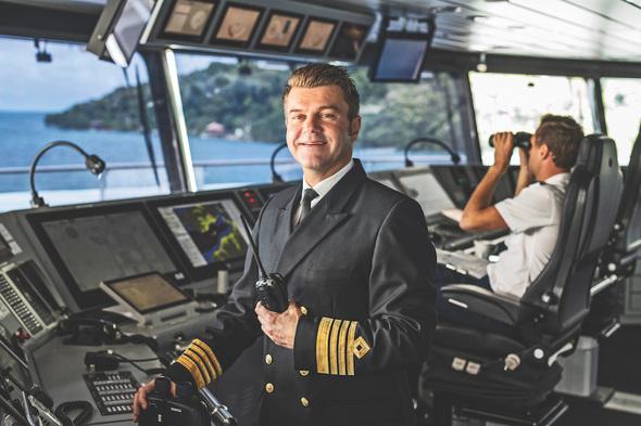 Erwan Le Rouzic, Captain of Scenic Eclipse