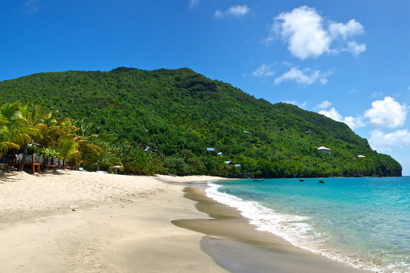 Beach in Bequia, St Vincent & The Grenadines