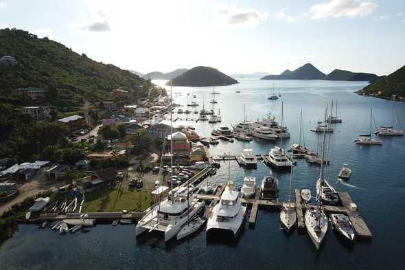 Soper's Hole Marina, Tortola
