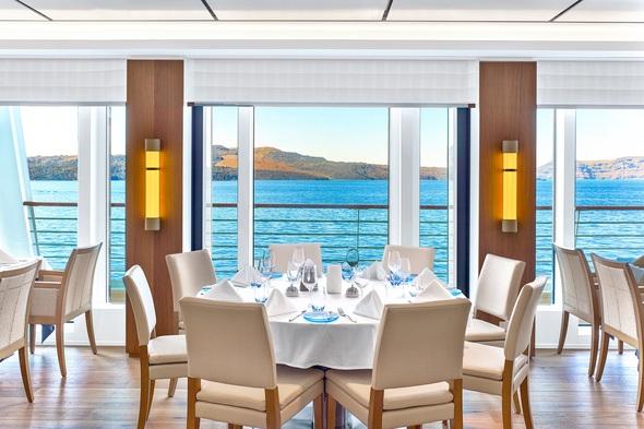 Viking Ocean Cruises - Views from the Restaurant