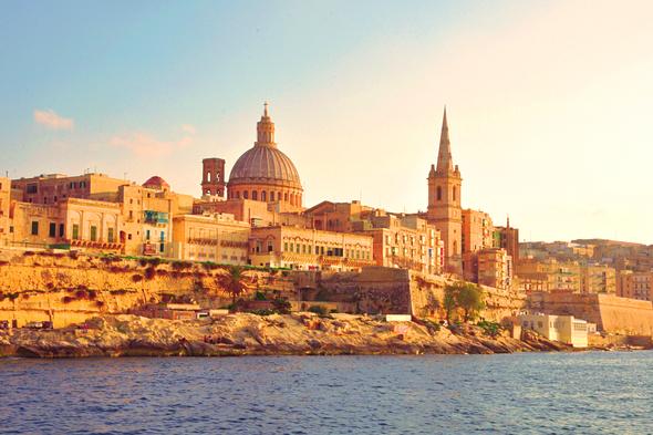 Old city of Valletta, Malta