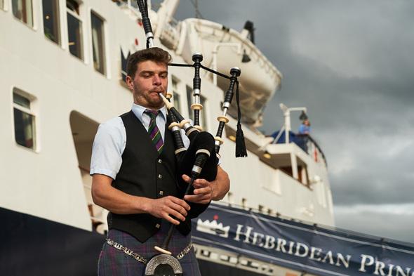 Hebridean Island Cruises - Bagpiper