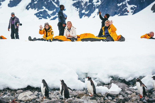 Camping on the ice in Antarctica with Quark Expeditions