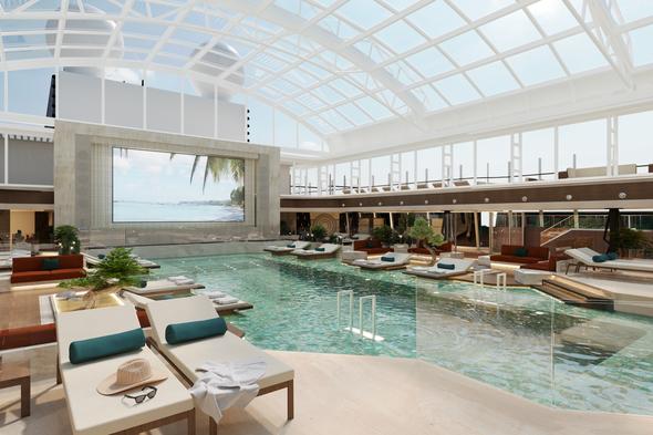 MSC Explora Journeys - Indoor pool