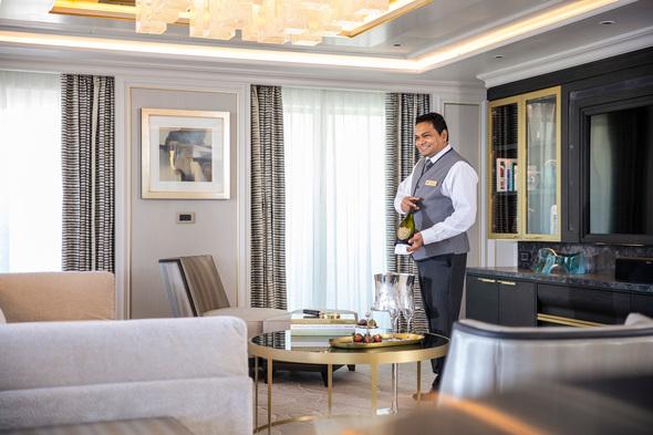 Seven Seas Splendor - Regent Suite butler