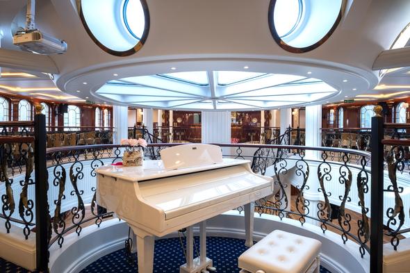 Tradewind Voyages - Golden Horizon - Piano Bar