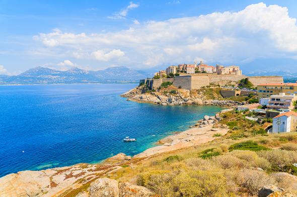 Calvi Bay, Corsica