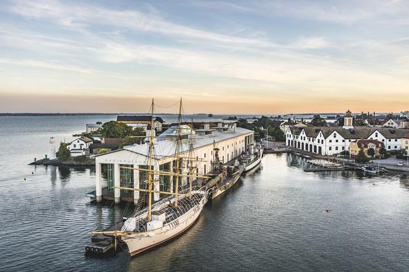 Karlskrona harbour, Sweden