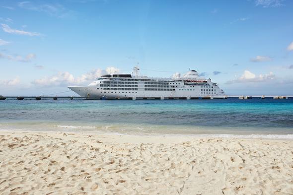 Silversea - Silver Wind in the Caribbean