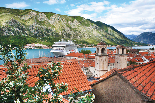 Oceania Marina in Kotor, Montenegro