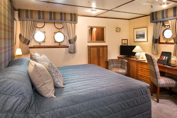 Hebridean Princess - Duart Castle cabin