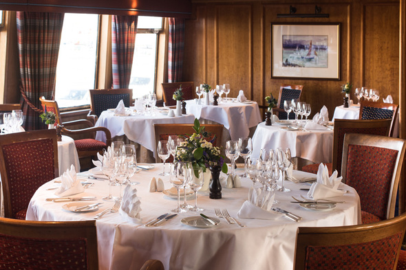 Hebridean Princess - Columba restaurant