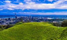 View of Auckland, New Zealand