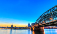 Bridge over the Rhine, Cologne