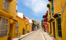 Street in Cartagena