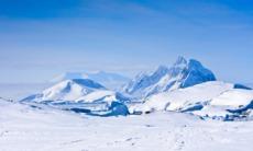 Mountains in Antarctica