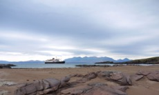 Hebridean Island Cruises - Hebridean Princess in Rum, Scotland