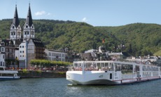Viking Cruises - Viking Freya in Boppard on the Rhine