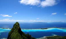 South Pacific cruises - Bora Bora