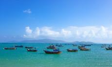 Fishing boats in Nha Trang, Vietnam
