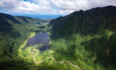 Lake on Réunion Island