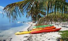 Mahahual beach, Costa Maya cruise port, Mexico
