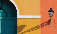 Colourful building in old San Juan, Puerto Rico
