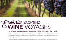 SeaDream 2018 Wine Voyage Brochure cover