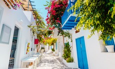 Streets of Paros, Greece