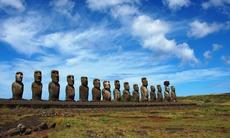 Pacific island expedition cruises - Moai statues, Easter Island
